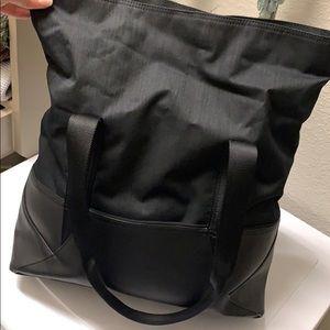 lululemon athletica Bags - Lululemon Fold-over Duffle Bag Black